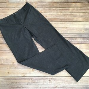 Loft Julie fit steel gray pants